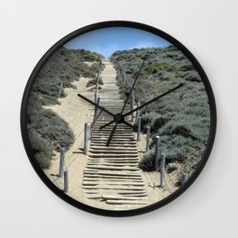 Carol Highsmith - Steps in the Sand Wall Clock