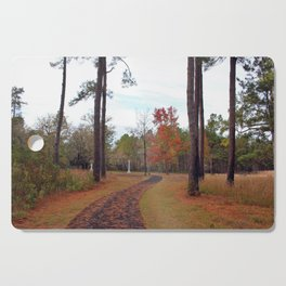Autumn At The Battlefield Cutting Board