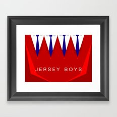 Jersey Boys Framed Art Print