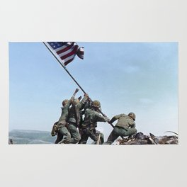Iwo Jima Color Rug