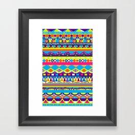 Summer Zest Framed Art Print