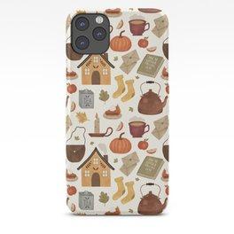 Autumn Cottage Days iPhone Case