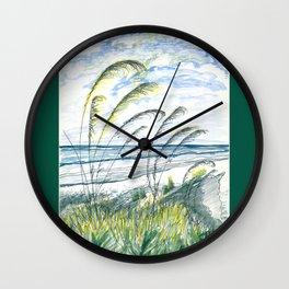 Marsh Beach Wall Clock