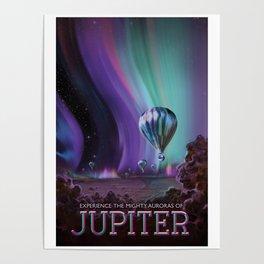 NASA Retro Space Travel Poster #7 Juniper Poster