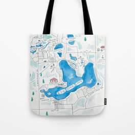 Big Star Lake Tote Bag