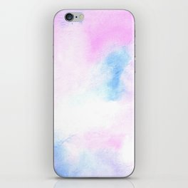 Pastel Watercolor Tie Dye iPhone Skin