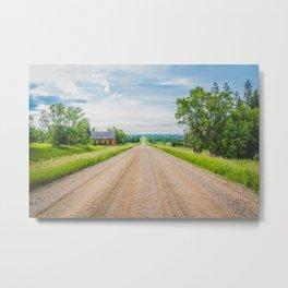 Kongsberg, North Dakota 1 Metal Print