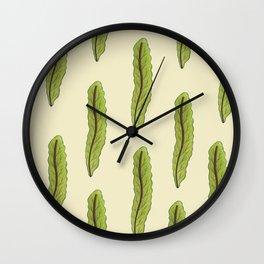 Eat well look GOOD Wall Clock