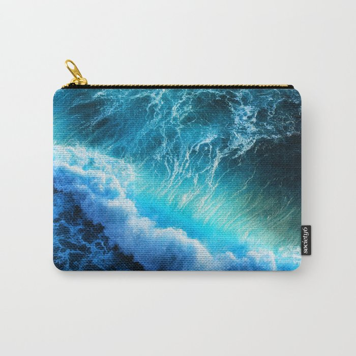 Waves IIV Carry-All Pouch