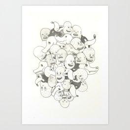 wolfman conglomo Art Print