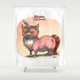 Felis Licornus Shower Curtain