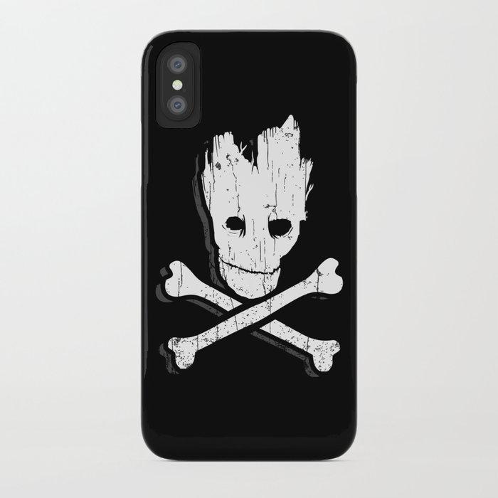 Groot & Bones iPhone Case