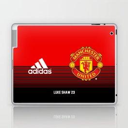 Luke Shaw - Manchester United Home 2018/19 Laptop & iPad Skin