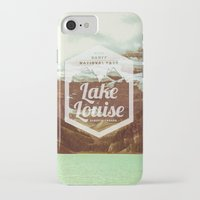 canada iPhone & iPod Cases featuring CANADA by Anna Trokan