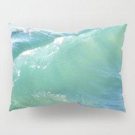 Teal Surf Pillow Sham