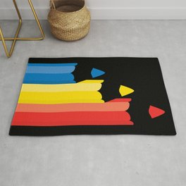 Primary colors Rug