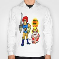 thundercats Hoodies featuring SNARF!  The greatest of ALL The Thundercats...  Way cooler than Lion-O! by beetoons
