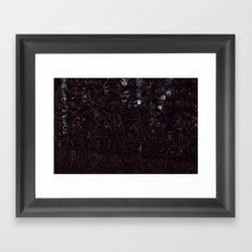 cosmic glitch Framed Art Print