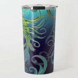 Grass Koi Sea Travel Mug
