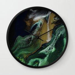Trimeresurus Stejnegeri - Resin Art Wall Clock