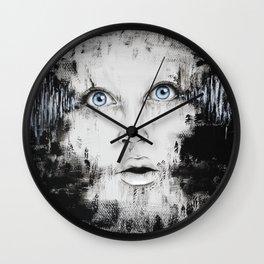 Just Wake Up Wall Clock
