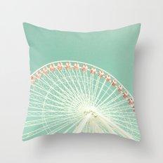 Circular Fun Throw Pillow