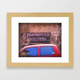 Principessa Framed Art Print