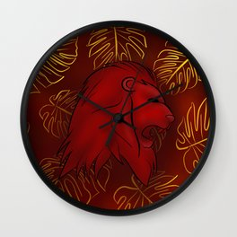 Bravery and Courage Wall Clock
