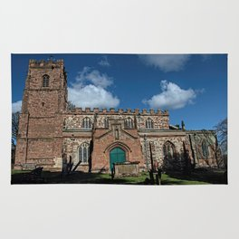 St Botolph's Church, Rugby, Warwickshire Rug