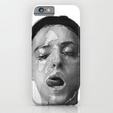 Monica Bellucci Traditional Portrait Print iPhone 6s Slim Case