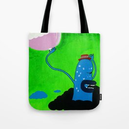 Shy Ronnie Tote Bag