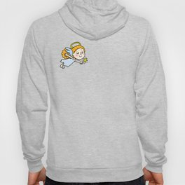 angel girl show a star Hoody