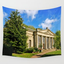 Temple Greenhouse (V2) Wall Tapestry