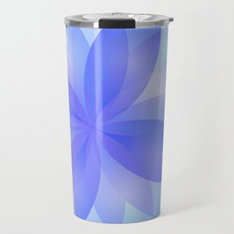 Abstract Lotus Flower G303 Travel Mug
