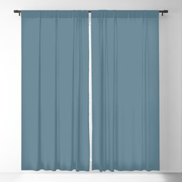 Behr Paint Blueprint S470-5 Color of the Year 2019 - Solid Color Blackout Curtain