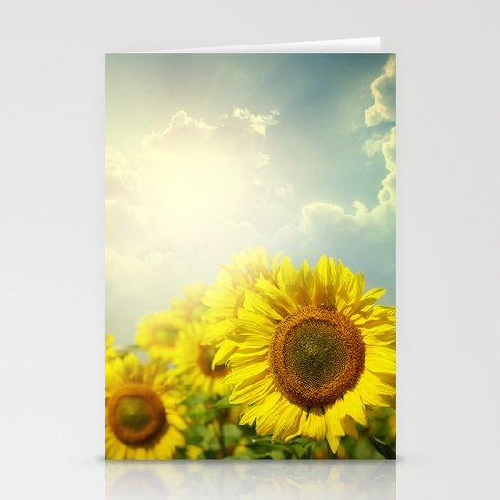 Another Day Begins Stationery Cards