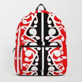 Maori Kowhaiwhai Traditional Pattern Backpack