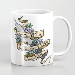 Positive Attitude Coffee Mug