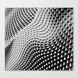 Wall Waves Canvas Print