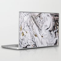 Laptop Skins featuring Chic Marble by Sara Eshak