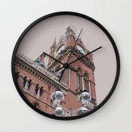 St Pancras as a memory Wall Clock