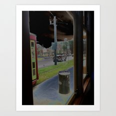 street car3 Art Print