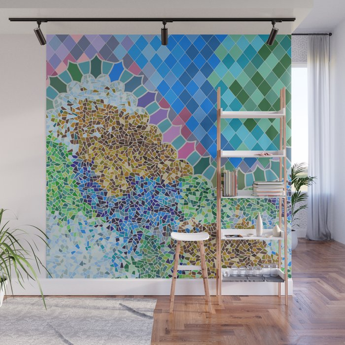 INSPIRED BY GAUDI Wall Mural