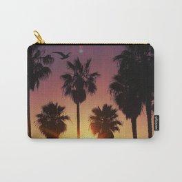 Venice Purple Sky Carry-All Pouch