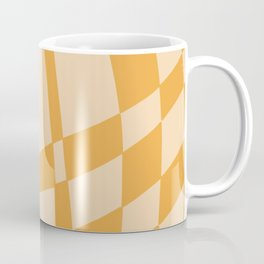 Exploding summer orange mosaic  Coffee Mug