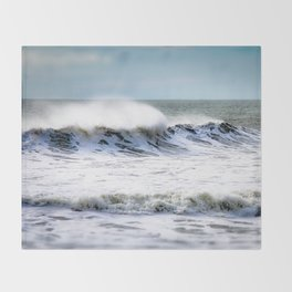 Sea Spray Throw Blanket