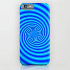 The Swirling Blues iPhone 6s Slim Case