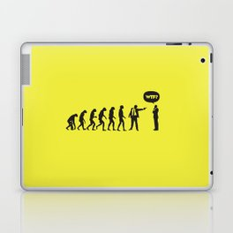 WTF? Evolution! Laptop & iPad Skin