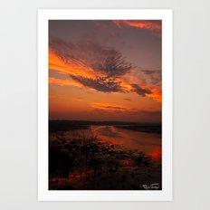 Sun Rise And Sunsets Art Print