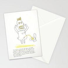 Pinkel Porky Stationery Cards